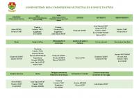 COMPOSITION DES COMMISSIONS MUNICIPALES